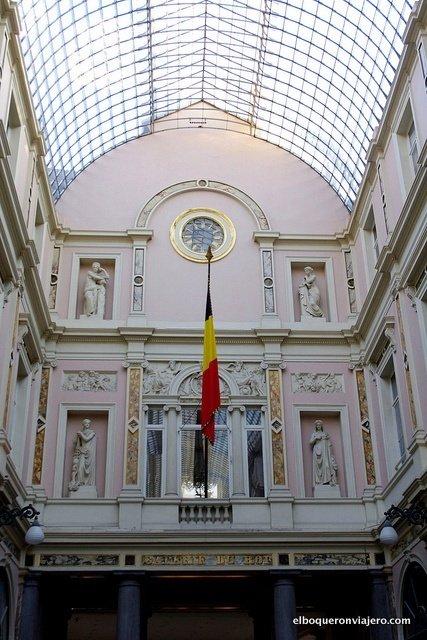 Les Galeries Royales Saint-Hubert, Bruselas