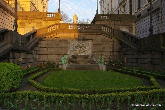 Jardines en Bruselas, Bélgica