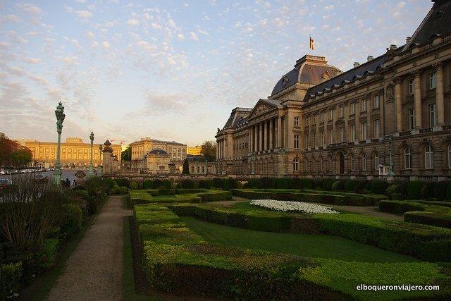 Palacio del Rey en Bruselas, Bélgica