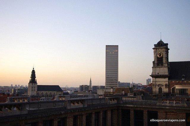 Vista panorámica de Bruselas