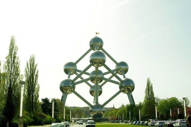 Atomium en Bruselas, Bélgica