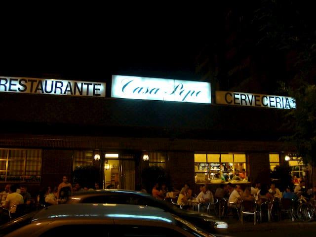 Exterior de Casa Pepe Madrid