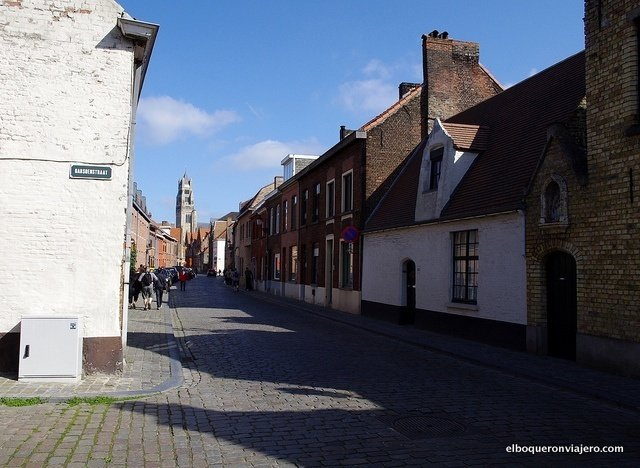 Calles de Brujas, Bélgica