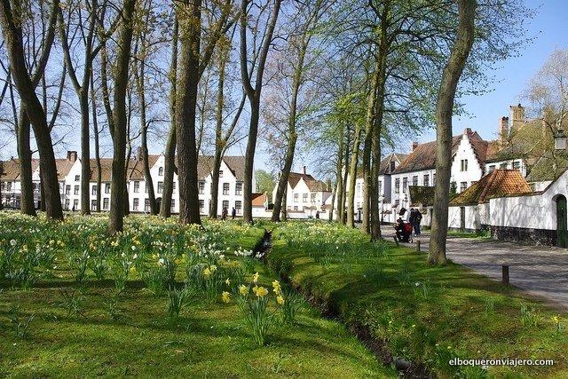 Calles y jardines de Brujas, Bélgica