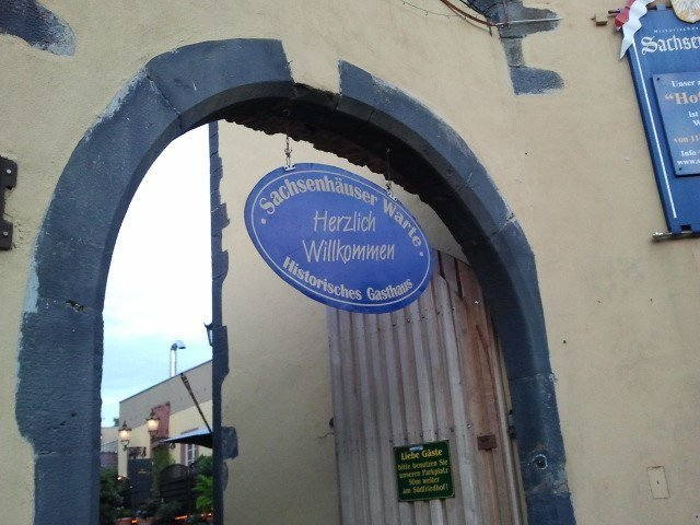 Entrada Sachsenhäuser Warte Restaurant
