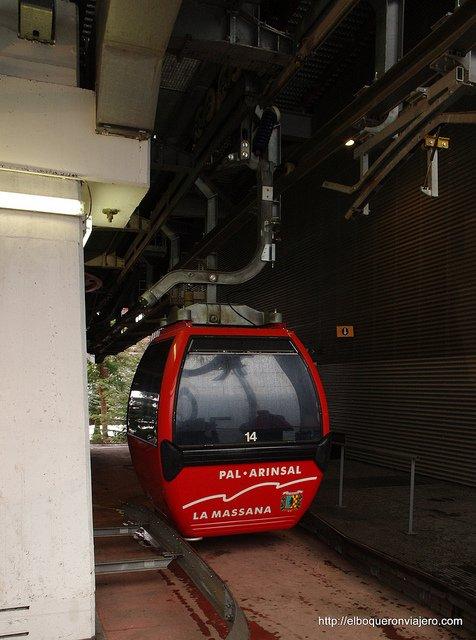 El teleférico de Vallnord Andorra