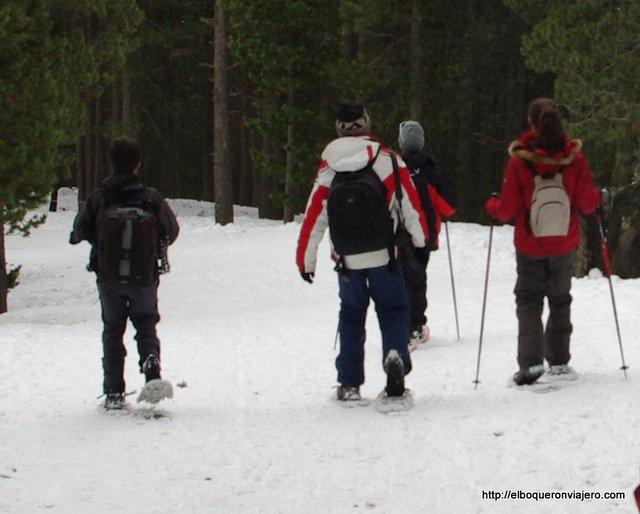 Raquetas de nieve en Vallnord Andorra