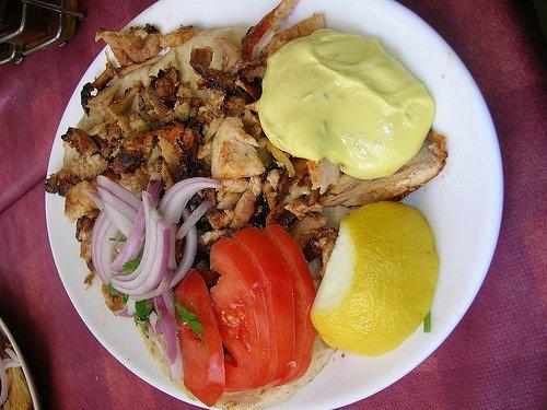 Nuestra comida en Atenas, Grecia