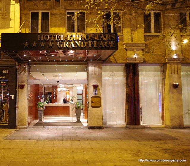 Hotel Eurostars Grand Place, Bruselas