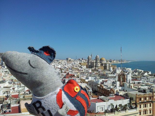 Rusko en la Torre Tavira de Cádiz