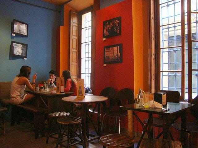 Café con libros, Málaga