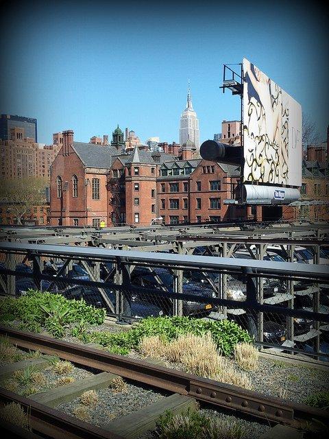 Chelsea High Line Park, New York City