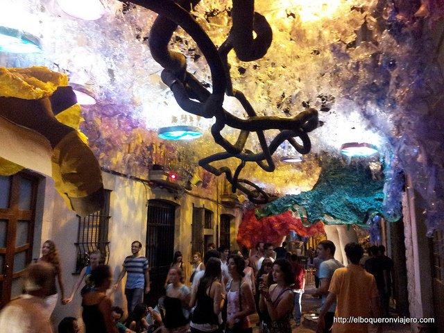 Viviendo las Fiestas de Gràcia, Barcelona