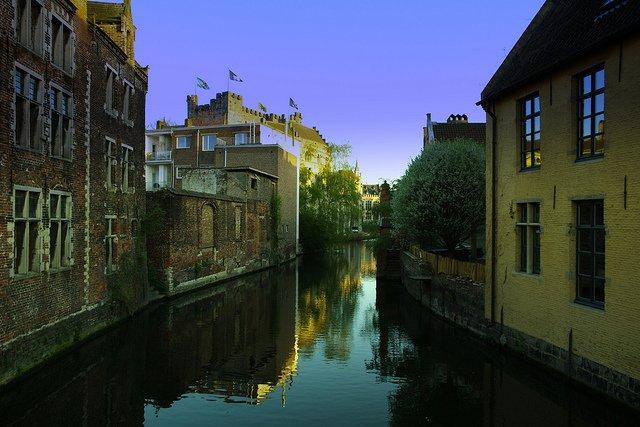 Viajar a Gante (Bélgica)
