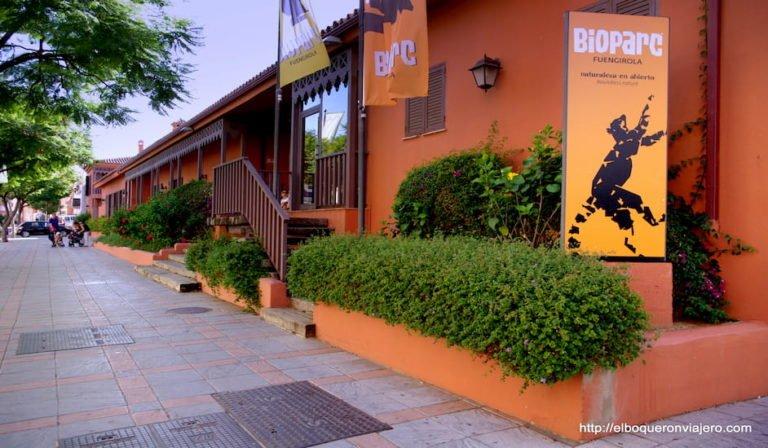 Exterior de Bioparc Fuengirola