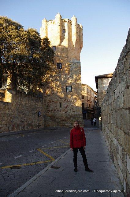 Qué ver en Salamanca, Torre Clavero