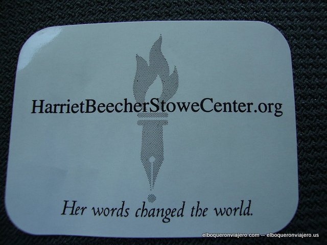 The Harriet Beecher Stowe House, Hartford, CT