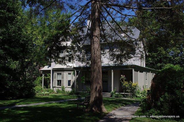 The Harriet Beecher Stowe House, Hartford, CT