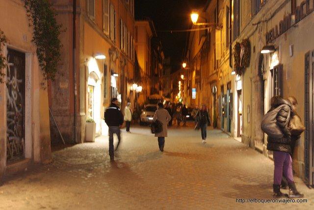 Calles de Trastevere, Roma