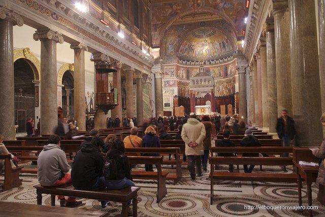 Iglesia de Santa María en Trastevere, Roma