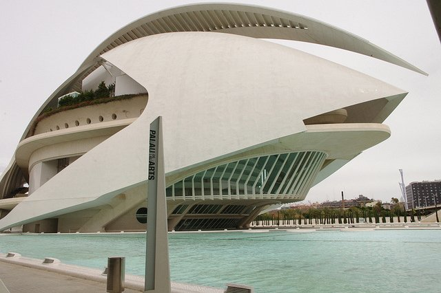 The City of Arts and Sciences of Valencia : A nice stroll around it