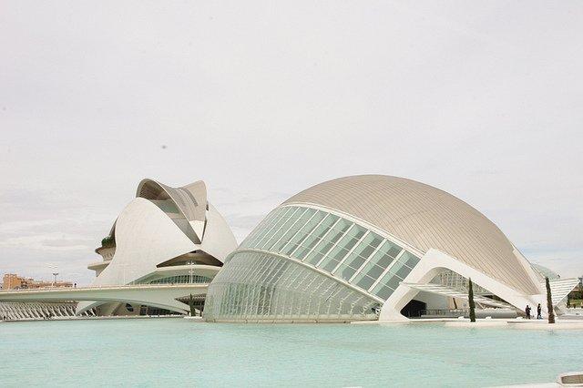 L'Hemisferic de la Ciudad de las Artes y Ciencias de Valencia