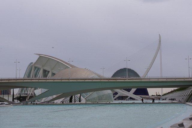 Edificios de la Ciudad de las Artes y Ciencias de Valencia