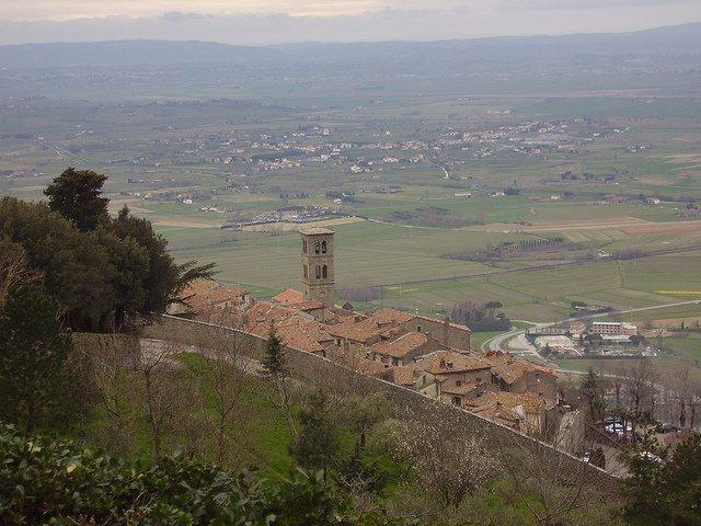 Películas para viajar: Cortona, Italia