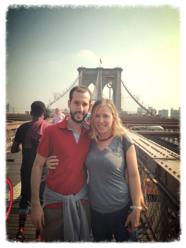 Imágenes en New York de un malagueño
