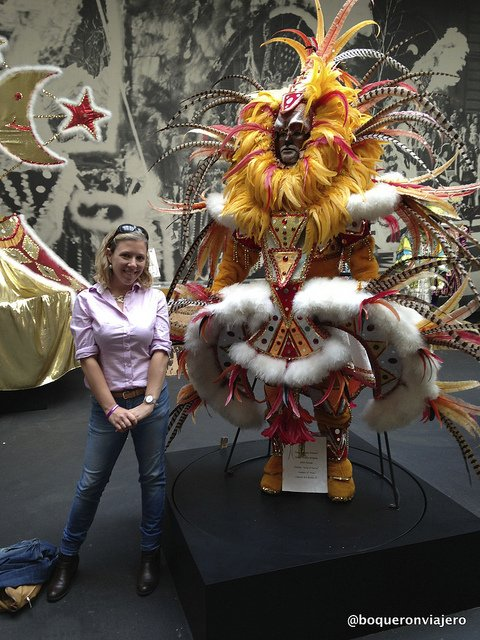 Abby at The Mummers Museum, Philadelphia