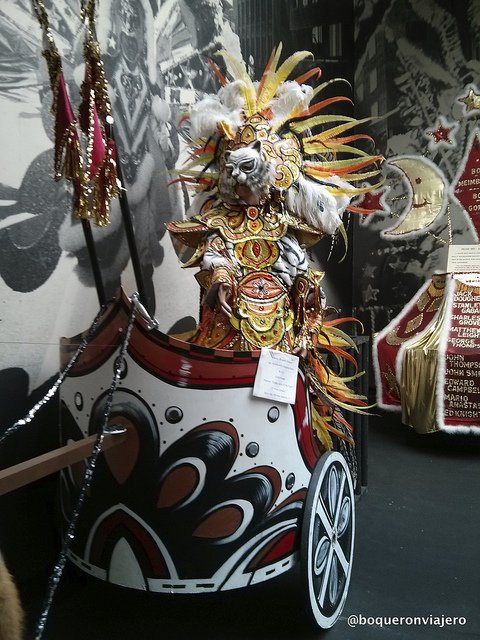 Mummers at The Mummers Museum, Philadelphia