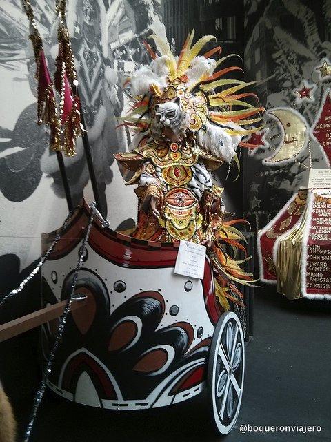Carrozas en Museo de los Mummers, Filadelfia