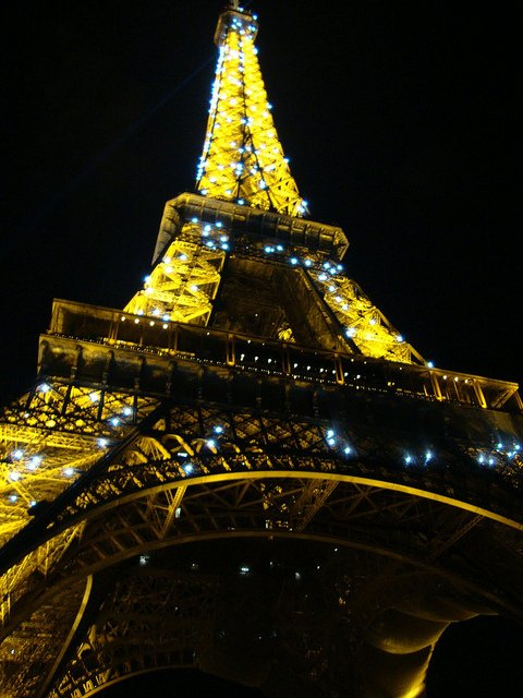Things to do in Paris, Eiffel Tower from a dinner cruise on the River Seine