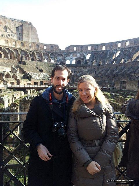 Resumen viajero 2013 : Coliseo de Roma