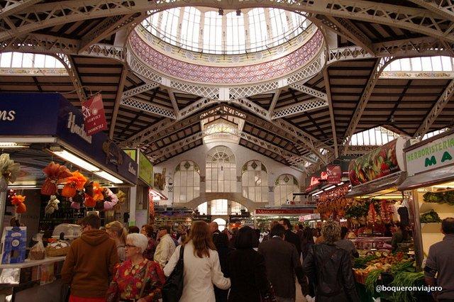 Resumen viajero 2013 : Mercado de Valencia