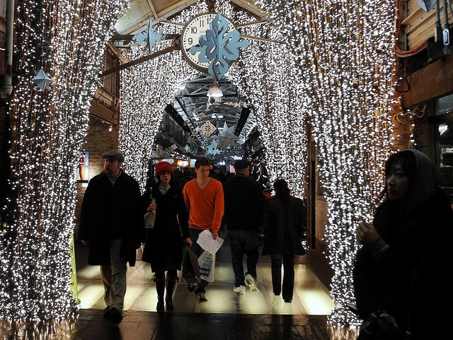 Christmas in New York, Chelsea Market by omoo