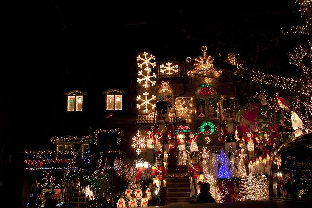 Christmas in New York, Dyker Heights by FreeVerse Photography