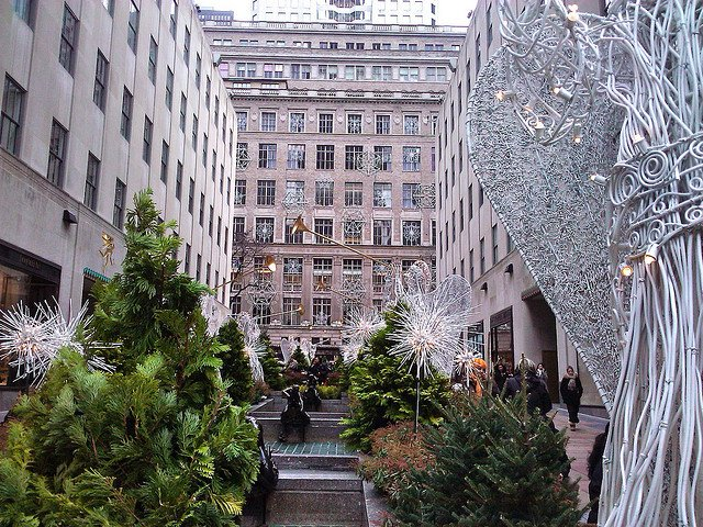 Christmas in New York, Fifth Avenue by ladamaris70