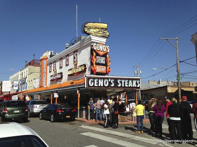 Resumen viajero 2013 : Genos Steak, Filadelfia