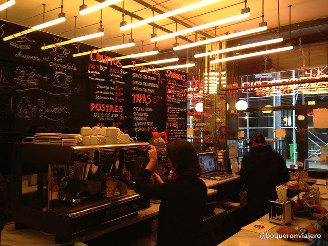 La Churreria New York – churros and hot chocolate