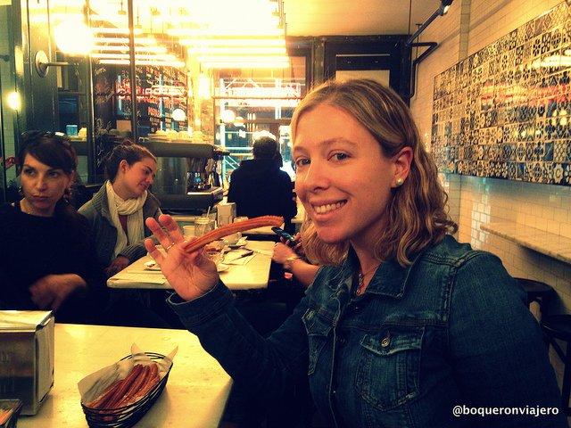 Resumen viajero 2013 : La Churreria Nueva York