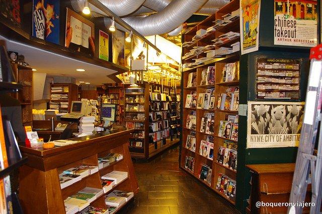 Books St. Mark's Bookshop NYC