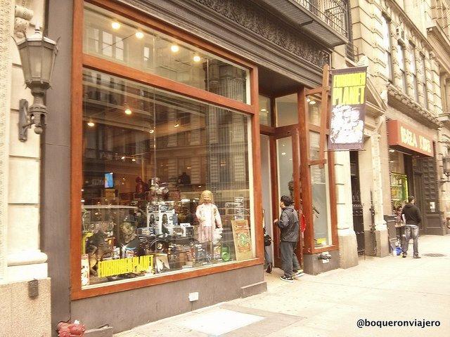 Entrance Forbidden Planet New York