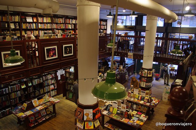 Upstairs The Housing Work Bookstore Cafe NYC