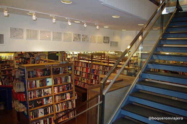 Stairs McNally Jackson Books NYC