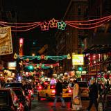 Vídeo de Canal Street, cruce de Chinatown y Little Italy
