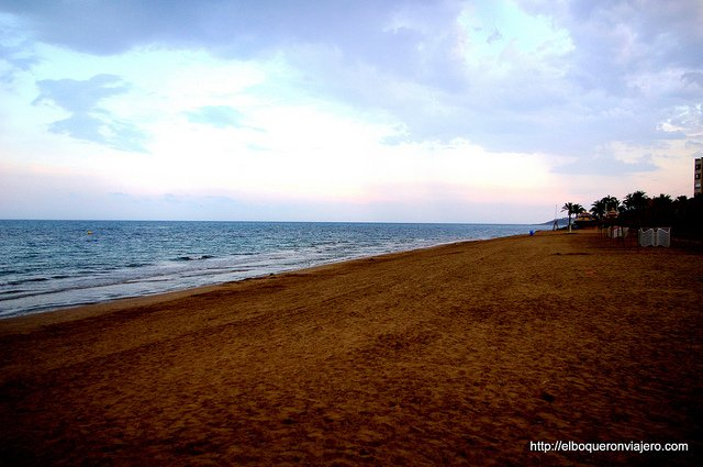 Images of our 2013: Marina Dor Beach, Alicante