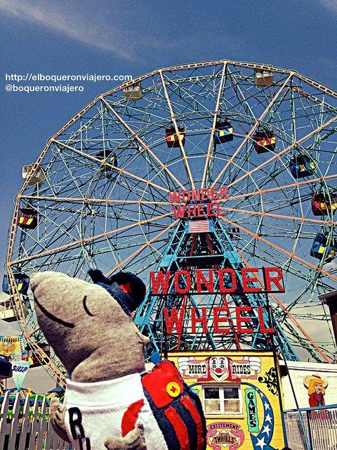 Resumen viajero 2013 : Wonder Wheel Coney Island Nueva York