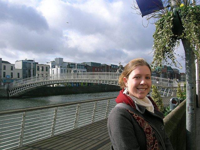 """Qué ver en Dublín : Puente peatonal """"Ha Penny"""""""