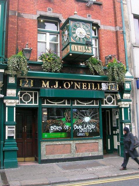 Qué ver en Dublín : M.J. O´Neil